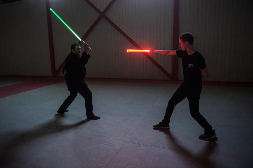 S'entraîner comme un Jedi à Montréal