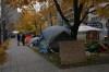 campement Occupons Montréal