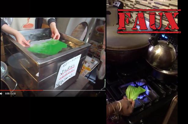 Non, ces vidéos ne prouvent pas qu'on mange des aliments en plastique