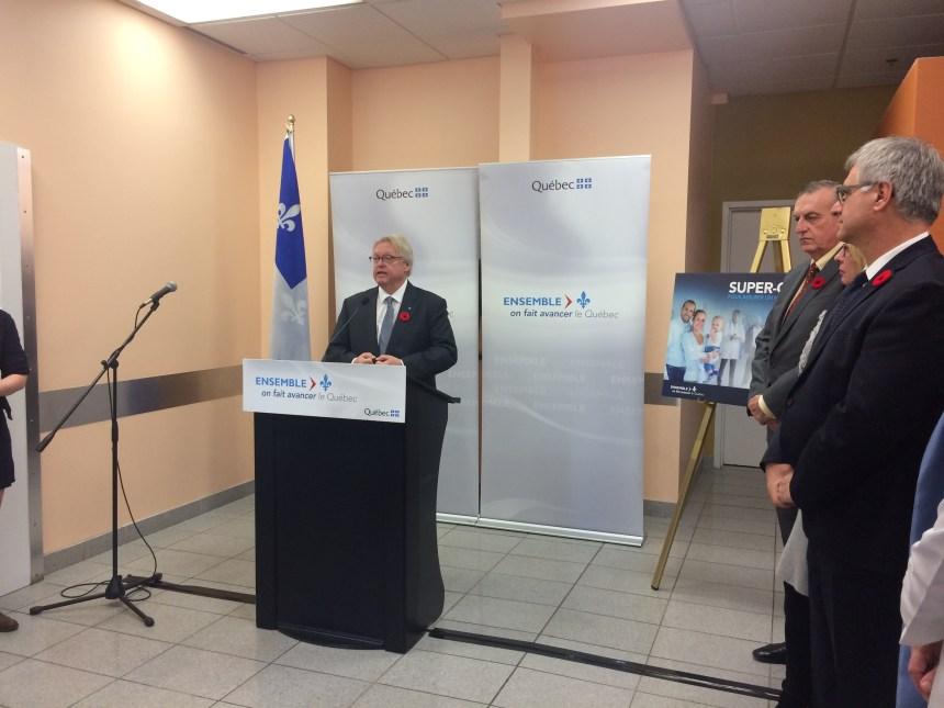 La première super-clinique à Saint-Laurent