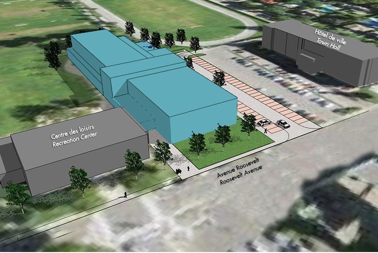 Un premier contrat de 1,9M$ pour la construction du centre sportif à Ville Mont-Royal