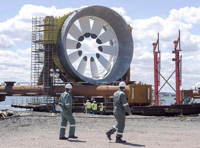Turbine marémotrice: revers pour les opposants