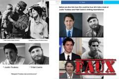 Non, Justin Trudeau n'est pas le fils illégitime de Fidel Castro