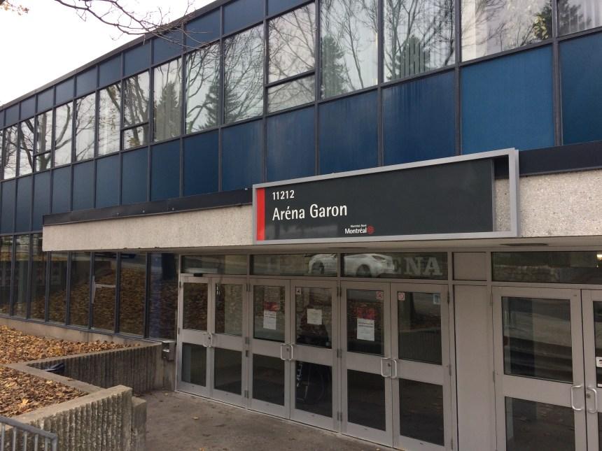 L'aréna Garon fermé en urgence par «sécurité» pour les usagers
