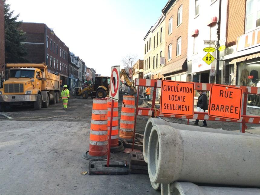 Des infrastructures de l'eau vieillissantes à Montréal