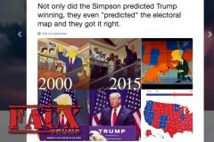 Non, les Simpson n'ont pas prédit les résultats électoraux sur une carte des États-Unis