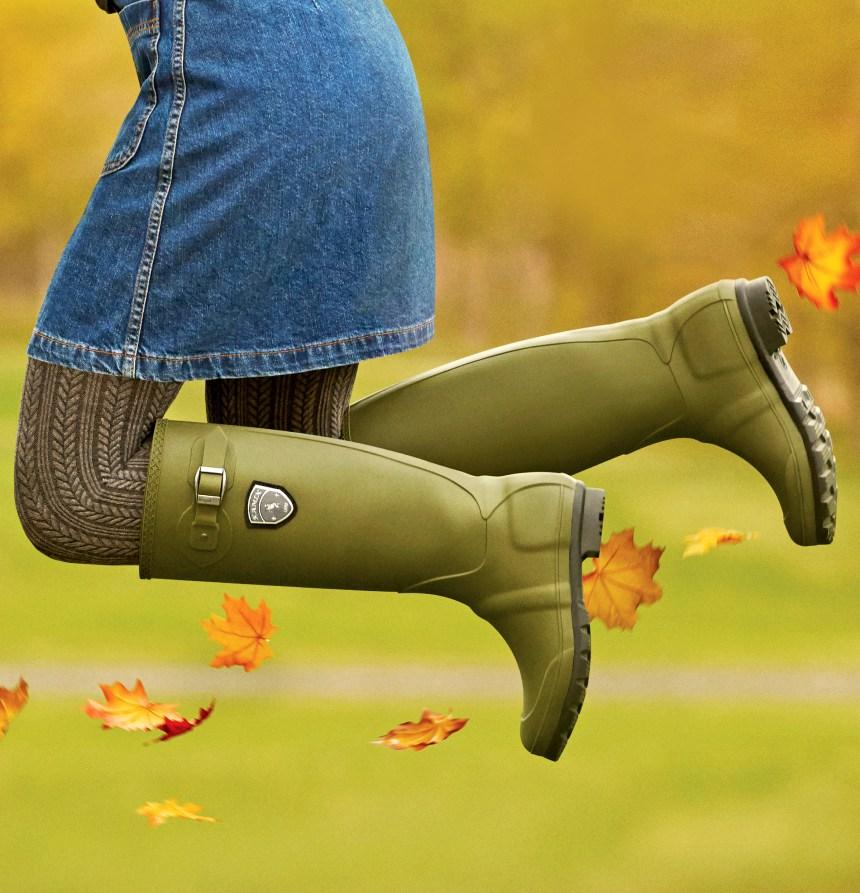Les bottes vertes de Kamik