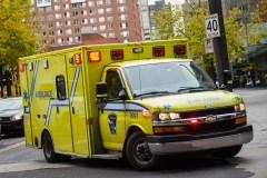 Un cycliste blessé grièvement après avoir été happé sur la rue Jarry