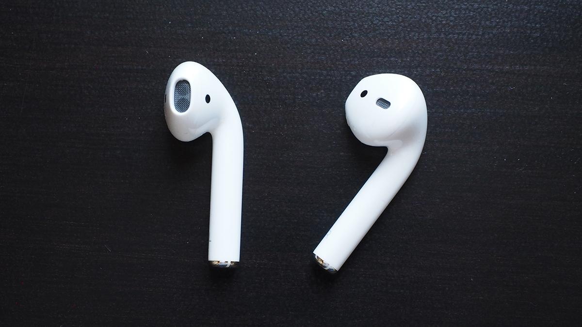 Les AirPods d'Apple.