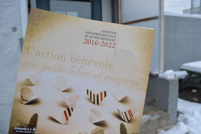 Plus d'un million pour l'action bénévole au Québec