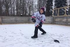 Un petit hockeyeur malade reçoit son plus beau cadeau