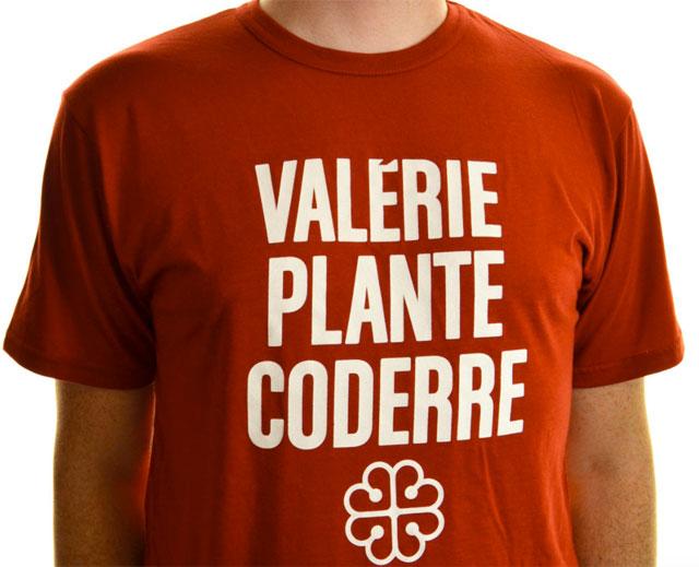 Le t-shirt que tous les partisans de Valérie Plante voudront avoir