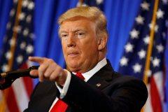Vérification des faits: la première conférence de presse de Donald Trump