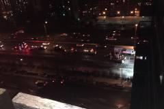 Accident impliquant plusieurs véhicules sur l'Autoroute 15
