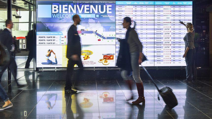 Moins de temps d'attente pour les correspondances à l'aéroport Trudeau