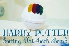 Oubliez le choixpeau magique: une bombe de bain vous attribue une maison à Poudlard