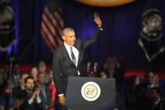 Dernier discours d'Obama: «Oui, nous le pouvons. Oui, nous l'avons fait.»