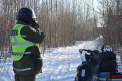 Un motoneigiste meurt dans une collision frontale en Montérégie