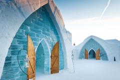 Québec: fermeture de l'Hôtel de Glace