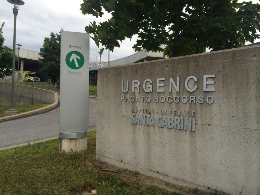 Les urgences du Québec: moins de patients, plus d'attente