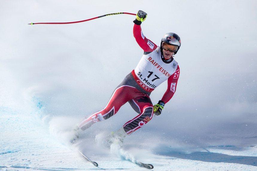 Érik Guay vice-champion de la descente