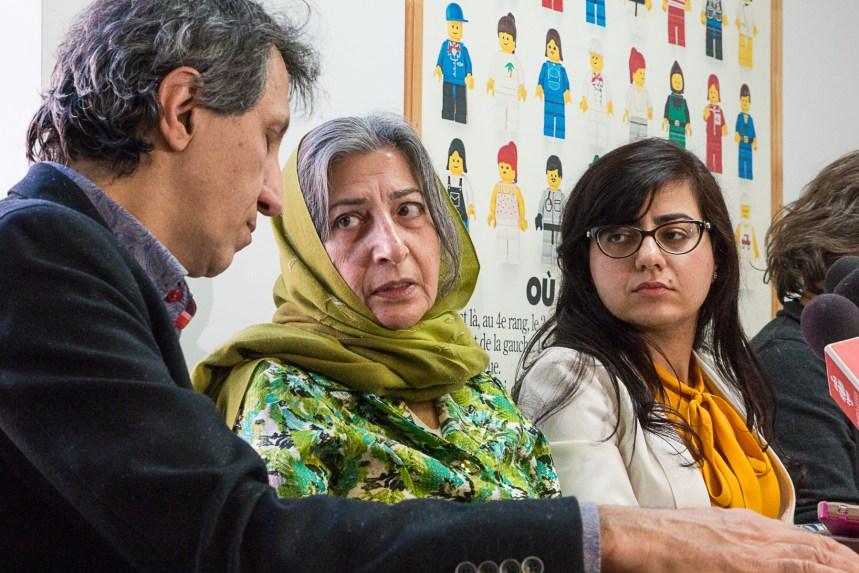 La dissidente iranienne Roghayeh Azizi Mirmahaleh arrêtée