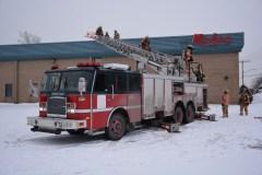 Incendie à LaSalle: un employé de Robco incommodé par la fumée
