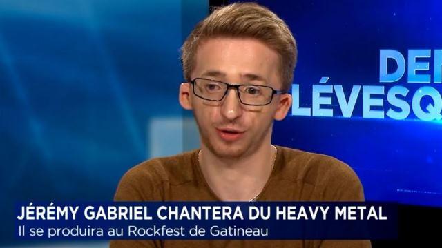 Jérémy Gabriel au Rockfest: le fondateur du festival trouve la situation un peu surréelle