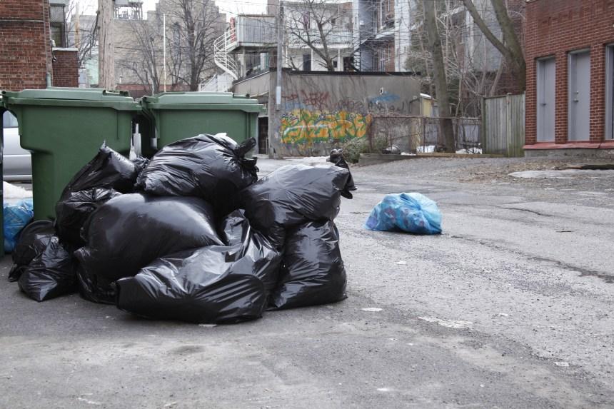 Montréal a payé pour enfouir les déchets d'autres villes