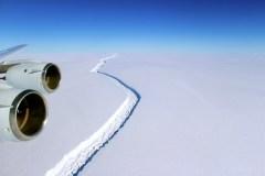 L'Antarctique continue de se fissurer