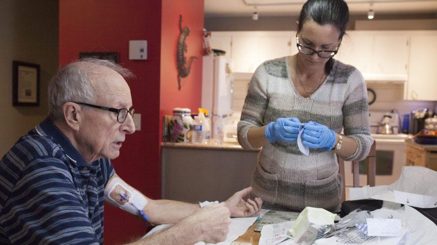 Québec veut que 3700 Québécois de plus reçoivent du soutien à domicile cette année