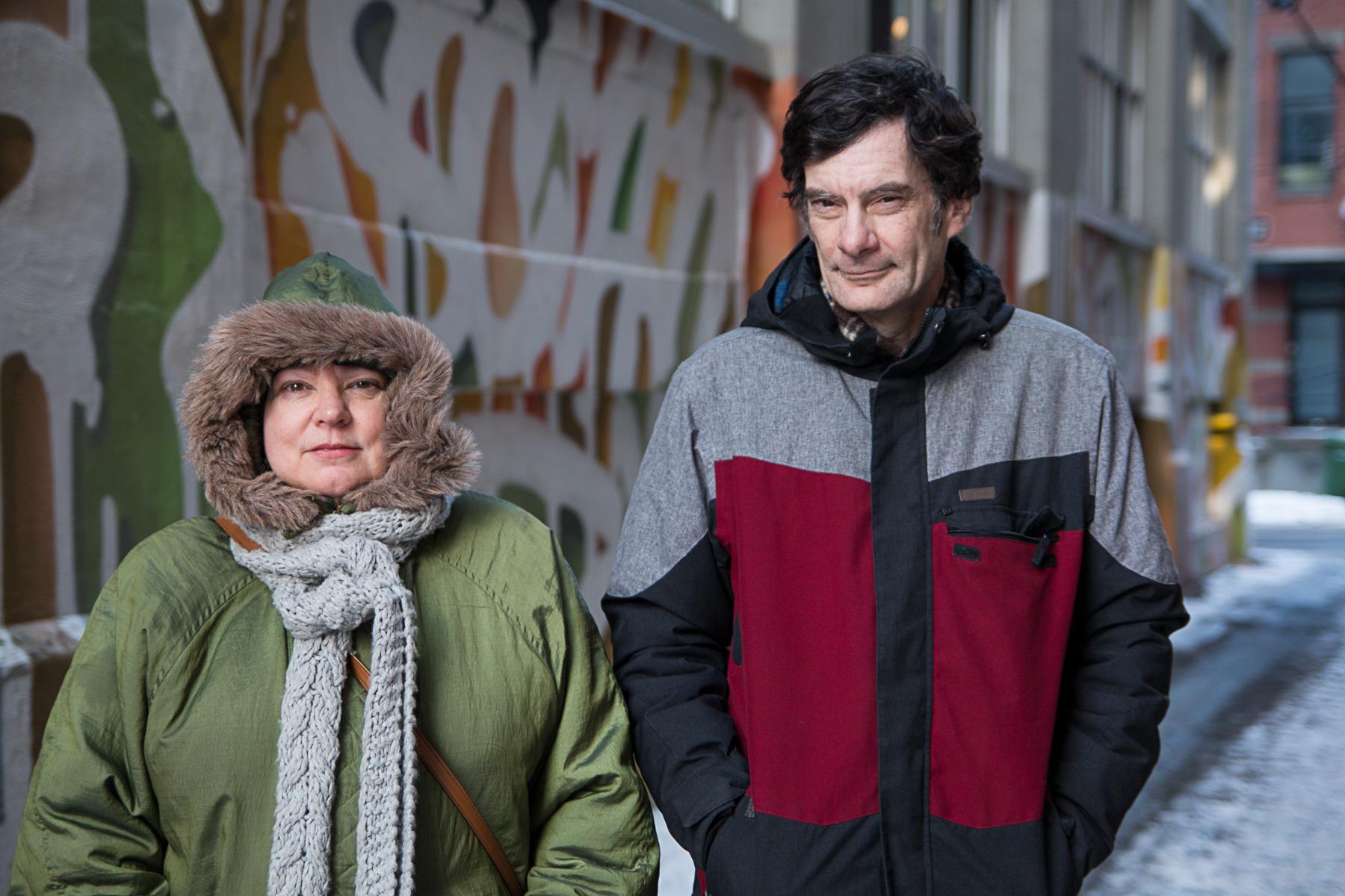 Marguerite Poulin et Pascal Lapointe