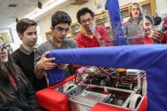 Un robot conçu par des jeunes