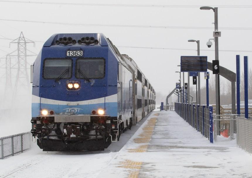 Montréal: le transport en commun gagne du terrain, mais lentement