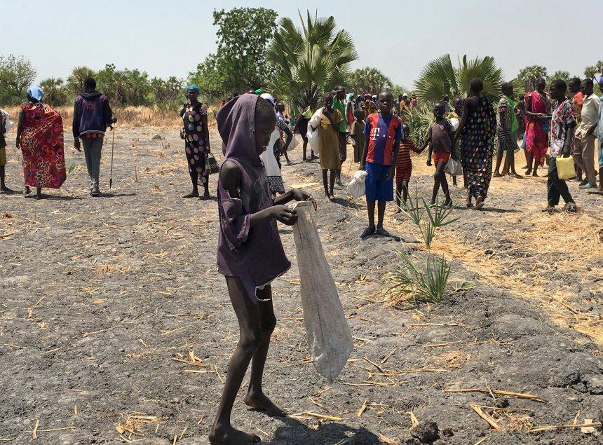 Le Soudan du Sud est menacé par la famine