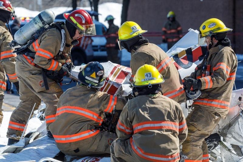 Un mort et trois blessés dans un écrasement aux Promenades St-Bruno