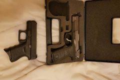 Une quinzaine d'armes de poing volées à Magog
