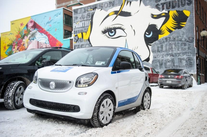 car2go Montréal modernise sa flotte de véhicules