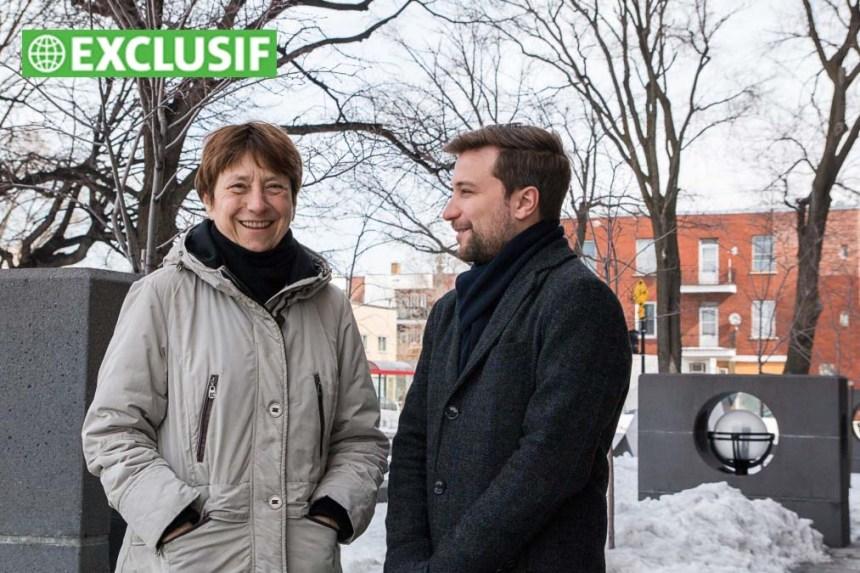 Françoise David adoube Gabriel Nadeau-Dubois