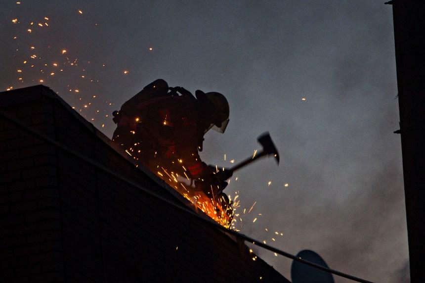 Un incendie fait un blessé sur la rue Racette