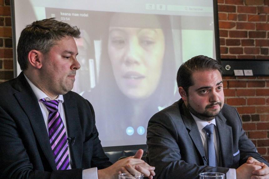 Trudeau et Coderre interpellés pour accueillir les «anges gardiens» de Snowden