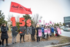Salaire minimum: Montréal veut que les partis politiques se commettent