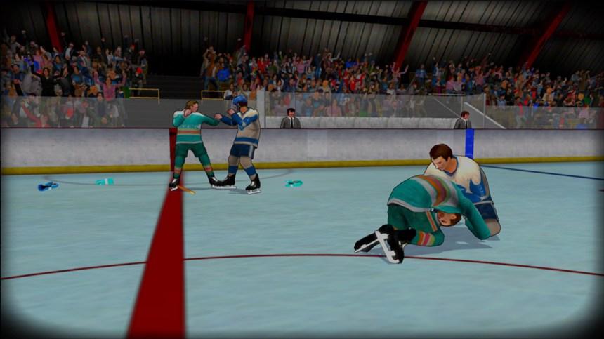 Essai de Old Time Hockey: du gros hockey sale