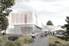 La nouvelle bibliothèque livrée à l'automne 2018
