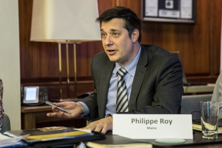Pas de subvention pour le centre sportif, selon Philippe Roy