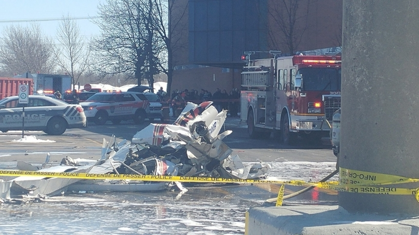 Collision entre deux avions: un des pilotes en arrêt cardio-respiratoire