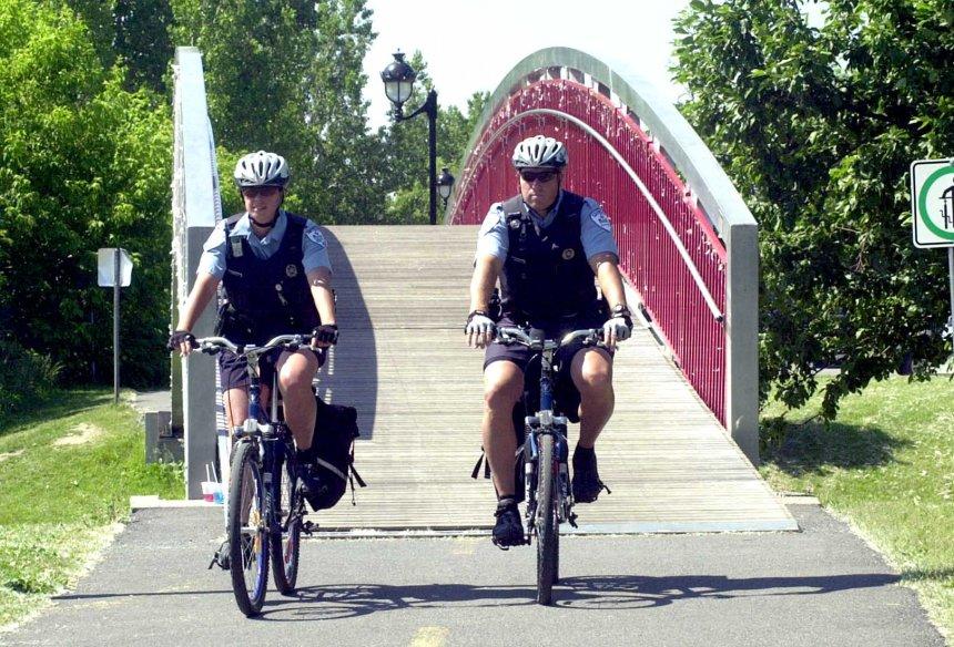 La patrouille policière à vélo de retour en juin
