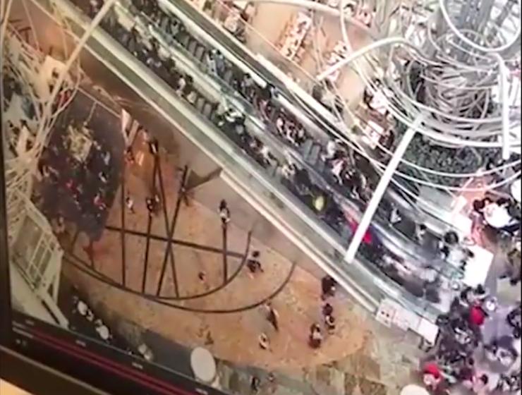 [VIDÉO] Un escalier roulant s'emballe et fait 18 blessés à Hong Kong