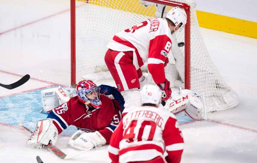 Red Wings 2 – Canadien 1: un point volé