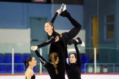 Les Suprêmes: patiner vers les podiums